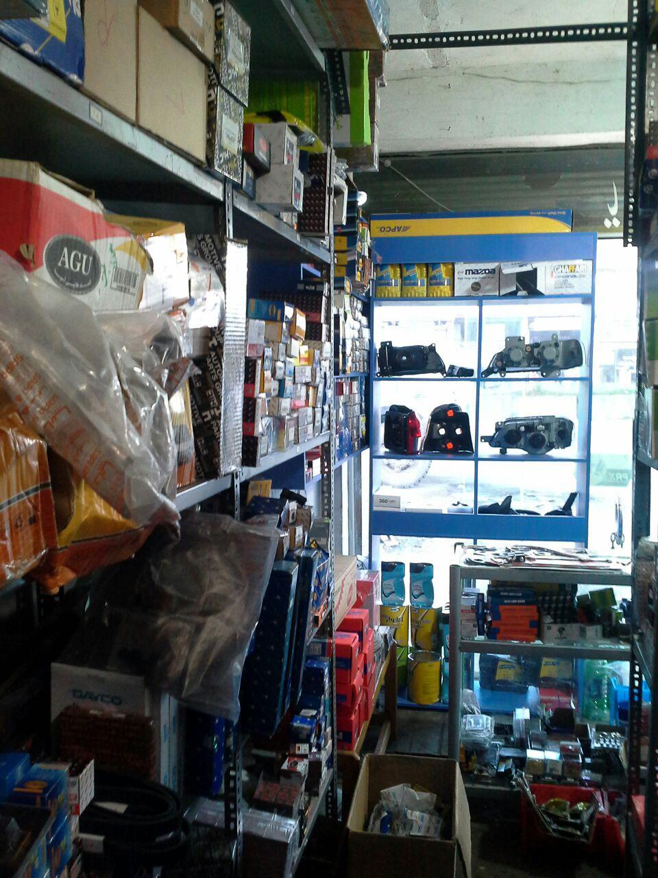 فروشگاه لوازم یدکی سفیر در رشت
